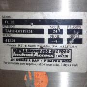 Conair FL-20 Vacuum Receive