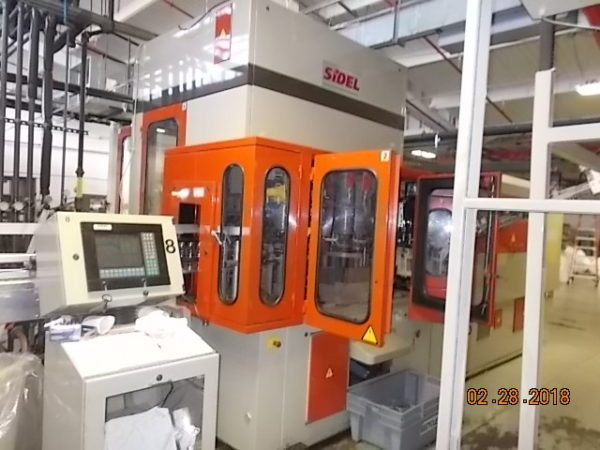 Sidel model SBO 6/10 blow molding machine