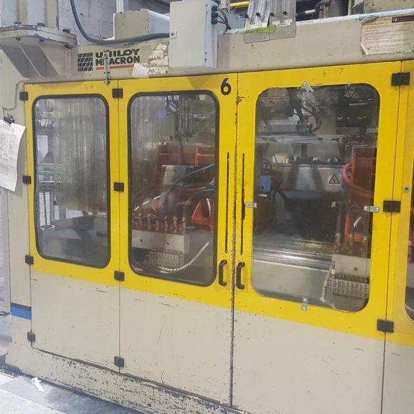 Uniloy Milacron Model HSM 10:D Continuous Extrusion Blow Molding Machine 1