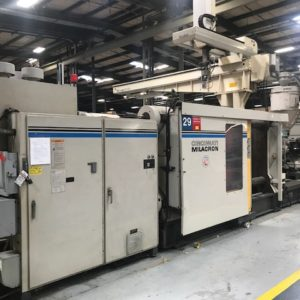 Cincinnati Milacron Model VL-1000-140 Injection Molding Machine