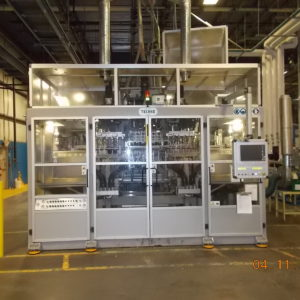 Techne Model ADVT2 750 Continuous Extrusion Blow Molding Machine (Co-Ex)