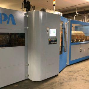 Sipa Model SFL4/3XL WM PET Two-Step Stretch Blow Molding Machine
