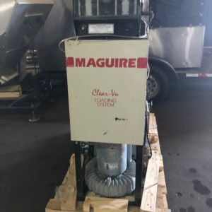 Maguire Model MLS 580 Vacuum Pump with 8 station Control