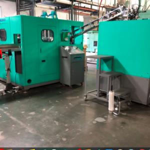 Chum Power Model CPSB- 2000W PET Two-Step Blow Molding Machine