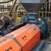 Sterling Dual 19 Pound Accumulator Head Blow Molding Machine