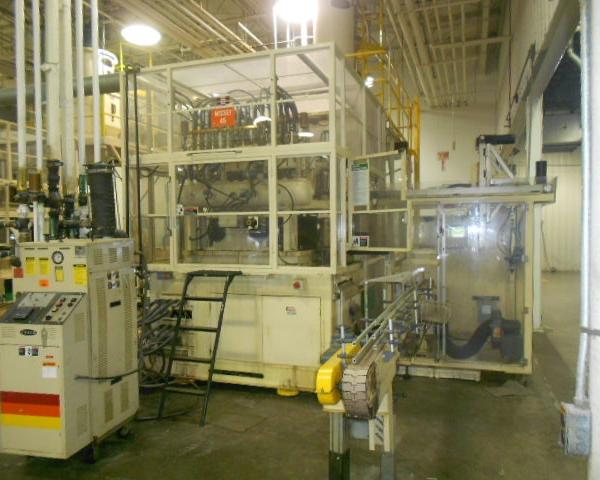 1996 Nissei ASB Model ASB 650NHII PET Stretch Blow Molding Machine