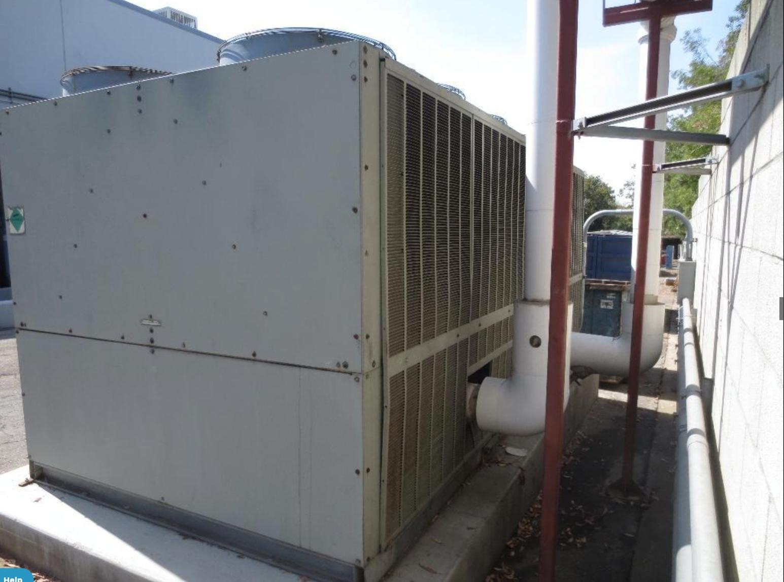 Trane Model RTAA1004XL (100) Ton Air Cooled Chiller