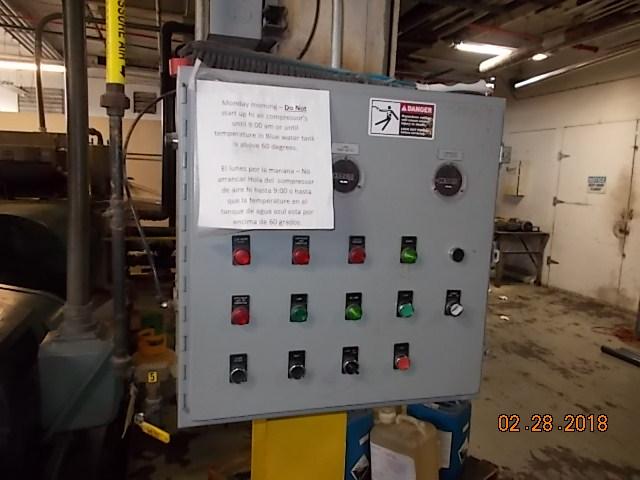 Belliss Morcom Model Vh15h3n High Pressure Air Compressor