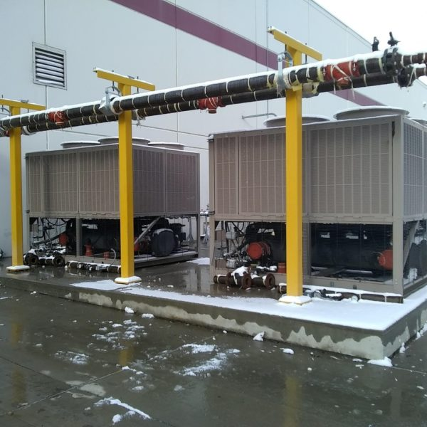 2008 York Model YLAA0090 (90) Ton Air Cooled Chiller