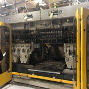 Bekum Model BM-905D Co-Ex Continuous Extrusion Blow Molding Machine