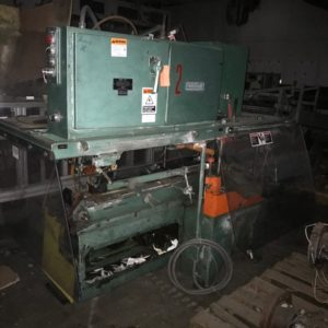 Uniloy Model 10041 Trimming Machine