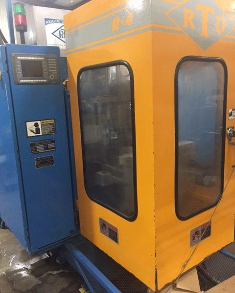 2011 Rocheleau Model R4 (3) Head Blow Molding Machine