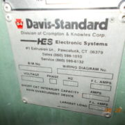 "Davis Standard Model Mark VI 25INDS25 2 1/2"" Extruder with air cooled barrel"
