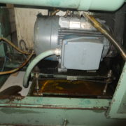 Uniloy Model 350 R2 (8) Head Reciprocating Screw Blow Molding Machine