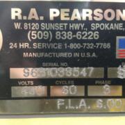 Pearson Single Head Case Packer