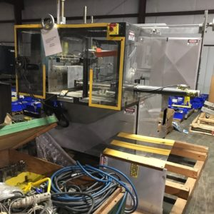 Southern Packaging Machinery Corporation Model CE-900-STD Case Erector with Nordson Hot Glue Sealer