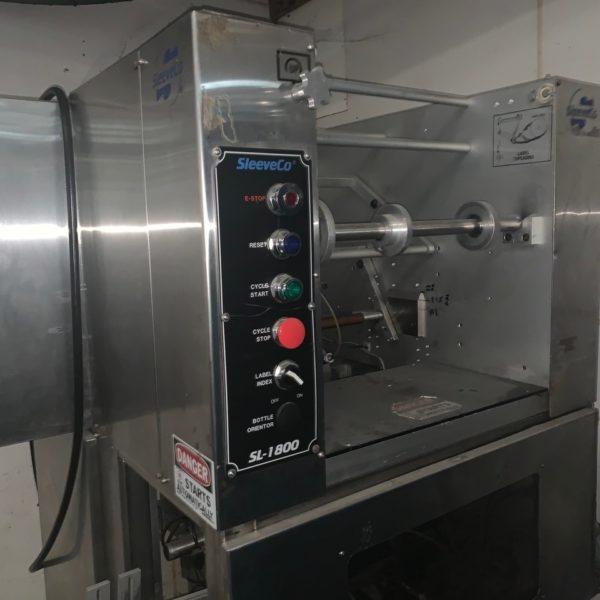 Sleevco Model Model SL-1800 Sleeving Machine