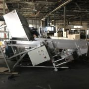 M. Tanner Model VZT-0300 Preform Hopper/Elevator with M. Tanner Model RST-0302 Unscrambler