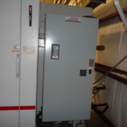 Uniloy Model R2000 (6) Head Reciprocating Screw Blow Molding Machine (2 available)