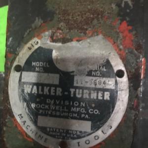 Walker-Turner Model 1100 Drill Press
