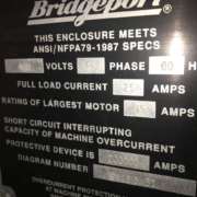 Bridgeport Model Discovery 308 CNC
