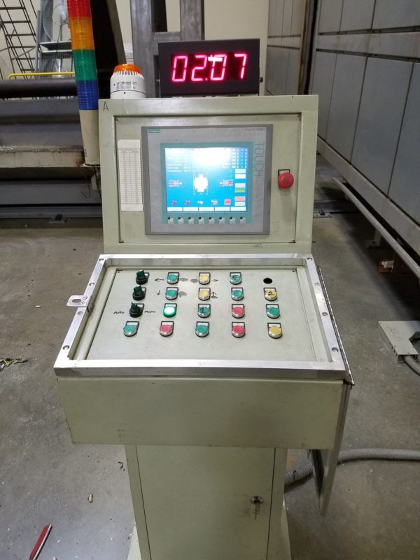 Rising Sun Model CS-6500 Rotational Molding Machine