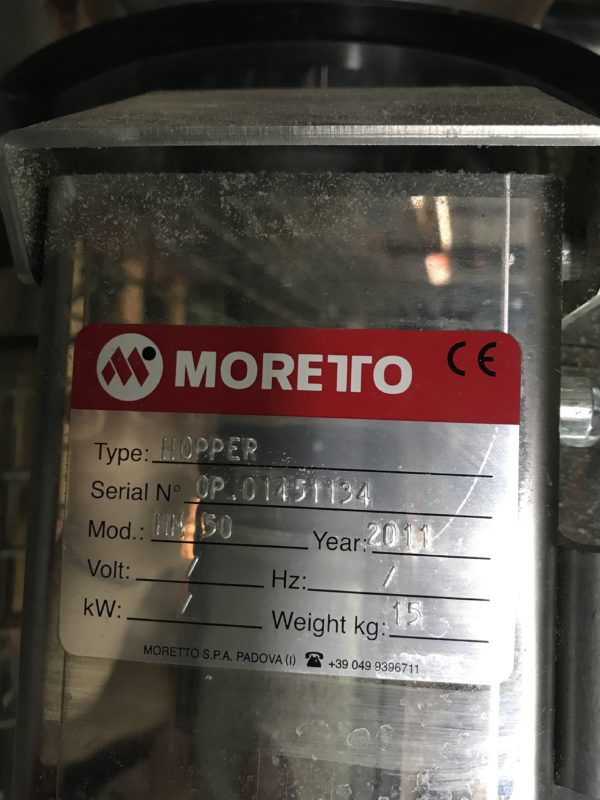 LR Systems Receiver with Attached Moretto Hopper