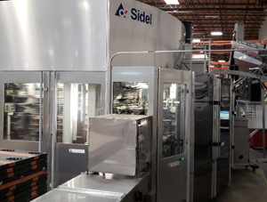 2012 Sidel Model SBO 18 Universal PET Reheat Stretch Blow Molding Machine