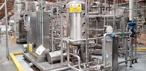 Complete Sidel Carbonated Soft Drink (CSD) Production and Filling Line