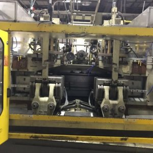 (2) Bekum Model BM-705D Co-Ex Continuous Extrusion Blow Molding Machines