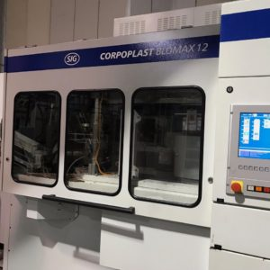 SIG Corpoplast Model Blowmax 12 PET Reheat Stretch Blow Molding Machine