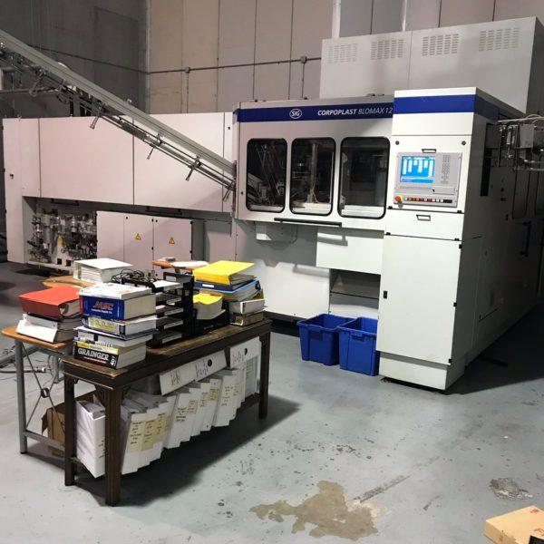 SIG Corpoplast Model Blowmax 12 PET Reheat Stretch Blow Molding Machine