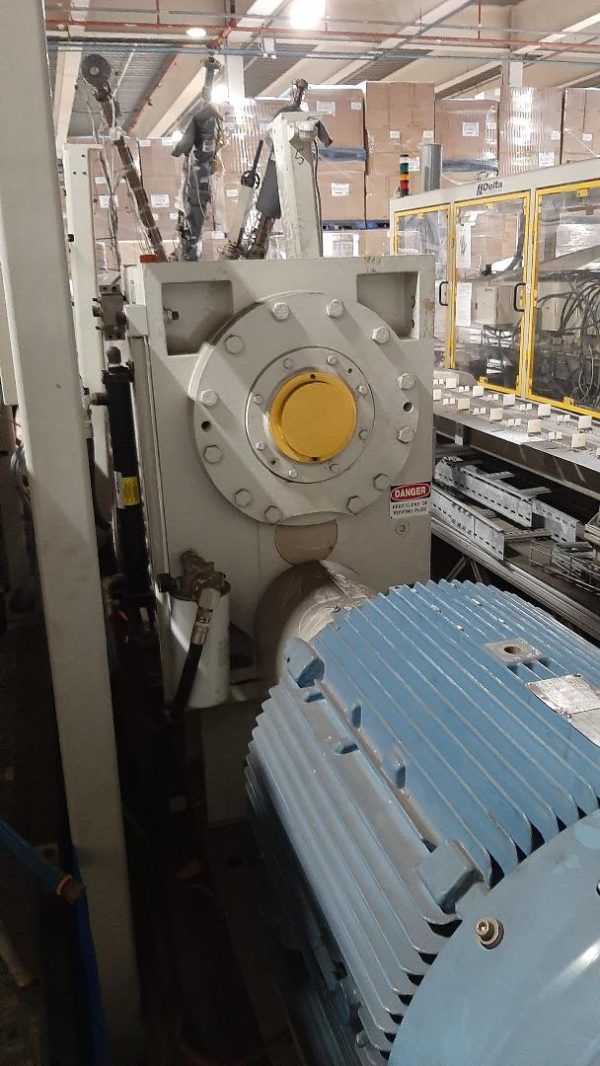 Graham Engineering Co-Ex Continuous Extrusion (12) Station Rotary Wheel Blow Molding Machine
