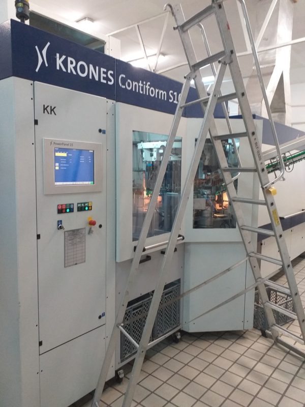Krones Model Contiform S10 (10) Cavity PET Reheat Stretch Blow Molding Machine