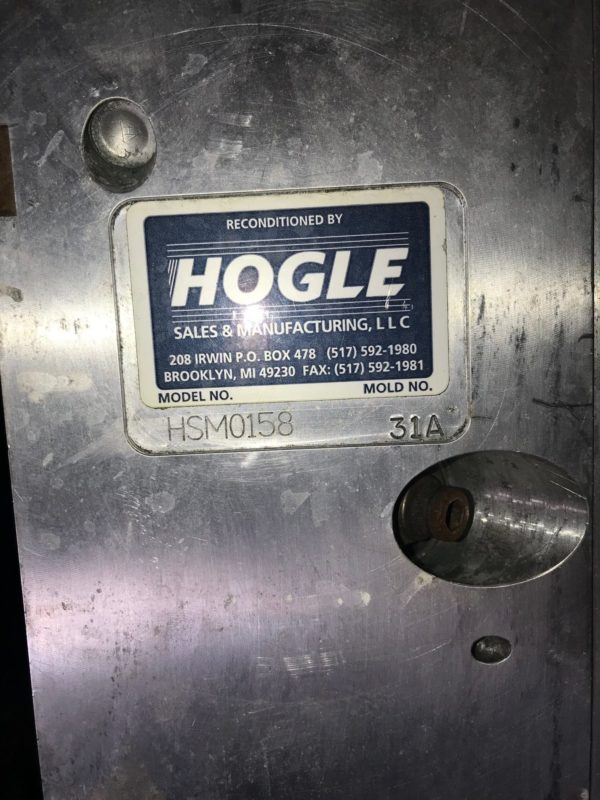 Hogle Blow Mold to Make Gallon Jug