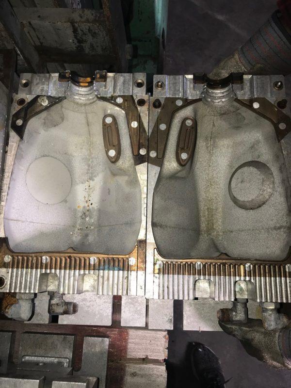 Hogle Blow Mold to Make Gallon Jug