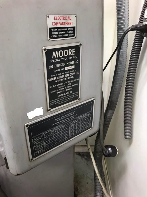 Moore Model 2C Jig Grinder