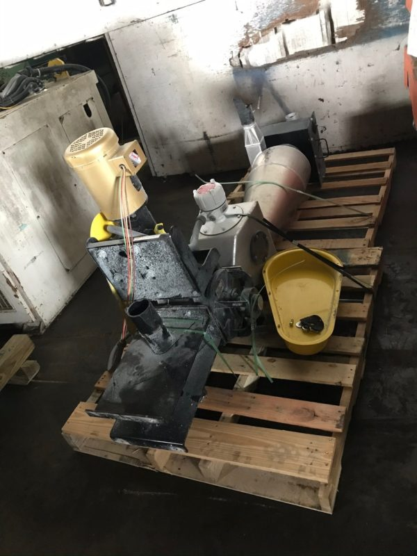 Rail Car Resin Unloading System
