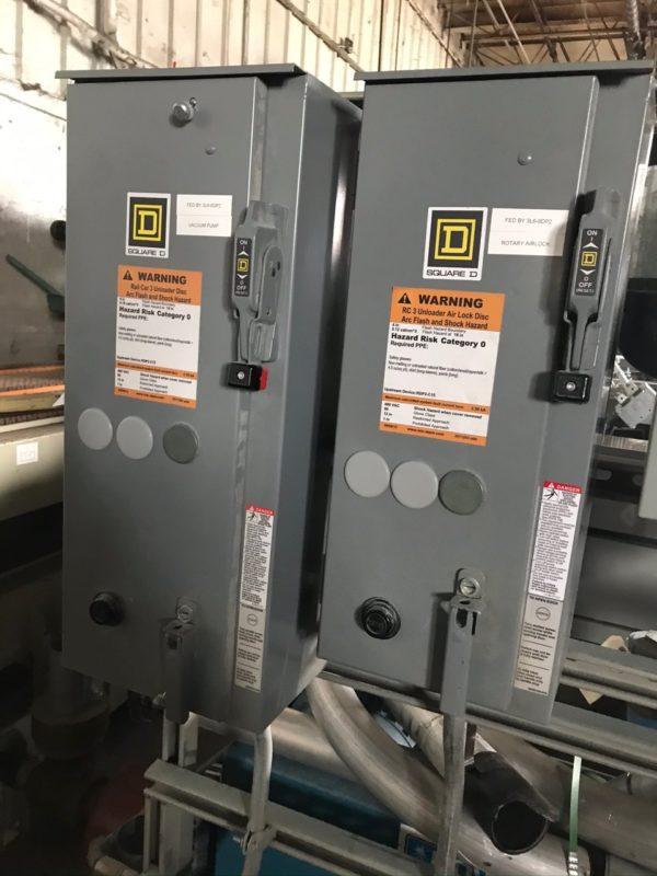 Rail Car Resin Unloading System