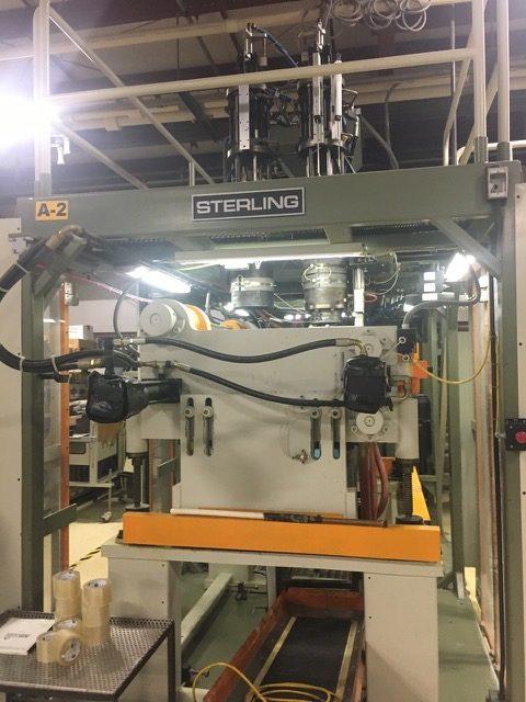 Sterling Model SE303D Dual 3 Pound Accumulator Head Blow Molding Machine