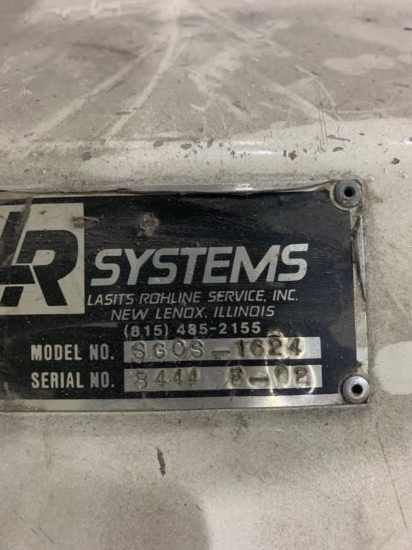 LR Systems Model SGOS 1624 (40) Horse Power Granulator