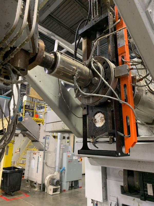Techne Model ADVT2-750 Continuous Extrusion Blow Molding Machine