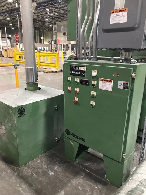 Wilmington Model 7.5H20-6L-2.5/4.5/130 (20) Station Wheel Co-Ex Continuous Extrusion Blow Molding Machine (Complete Line)