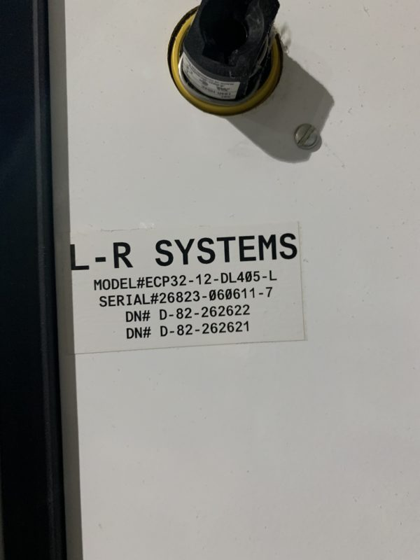 LR Systems Model WSB 104-AR12 Weigh Scale Blenders-