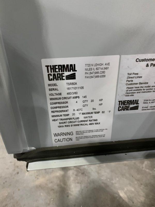 ThermalCare Model TSR80 Chiller