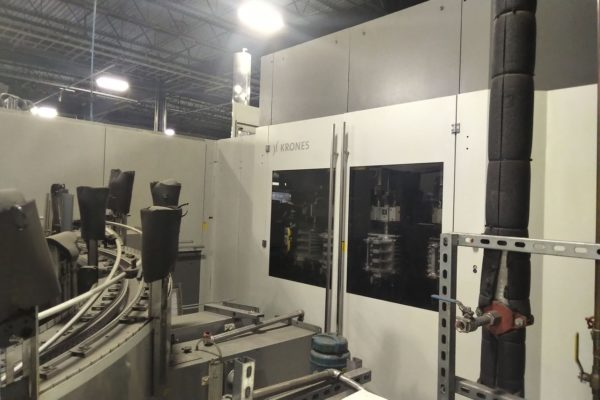Krones Model Contiform S20 PET Re-heat Stretch Blow Molding Machine