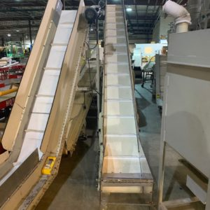 Rotogran Adjustable Incline Conveyors