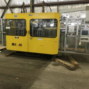 B&W/Uniloy Model BW 6000 DE Continuous Extrusion Blow Molding Machines