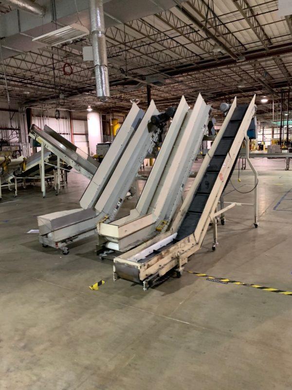 Rotogran Adjustable Incline Conveyors