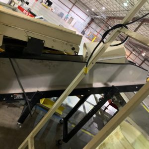 "TEC Incline Conveyor 73""L x 14""W"